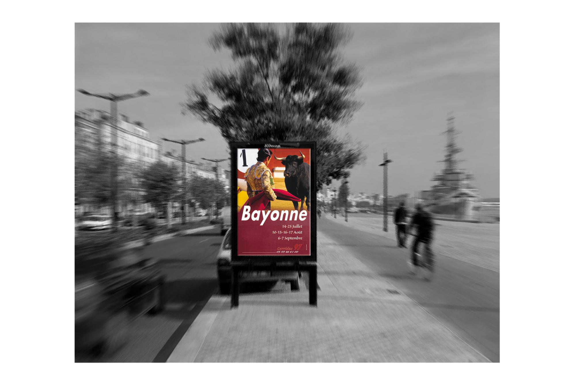 Affiche Corrida 97 Ville de Bayonne 3