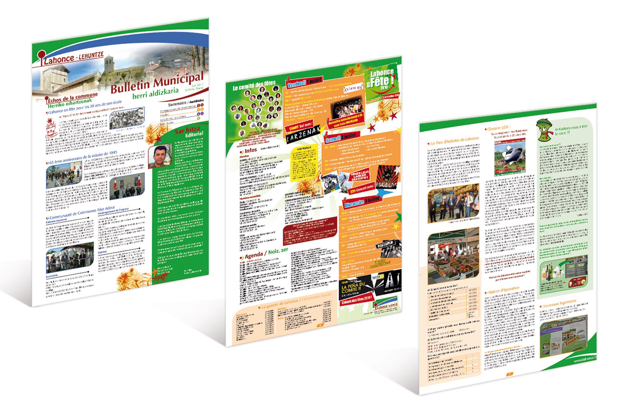 Bulletin Municipal de Lahonce 2