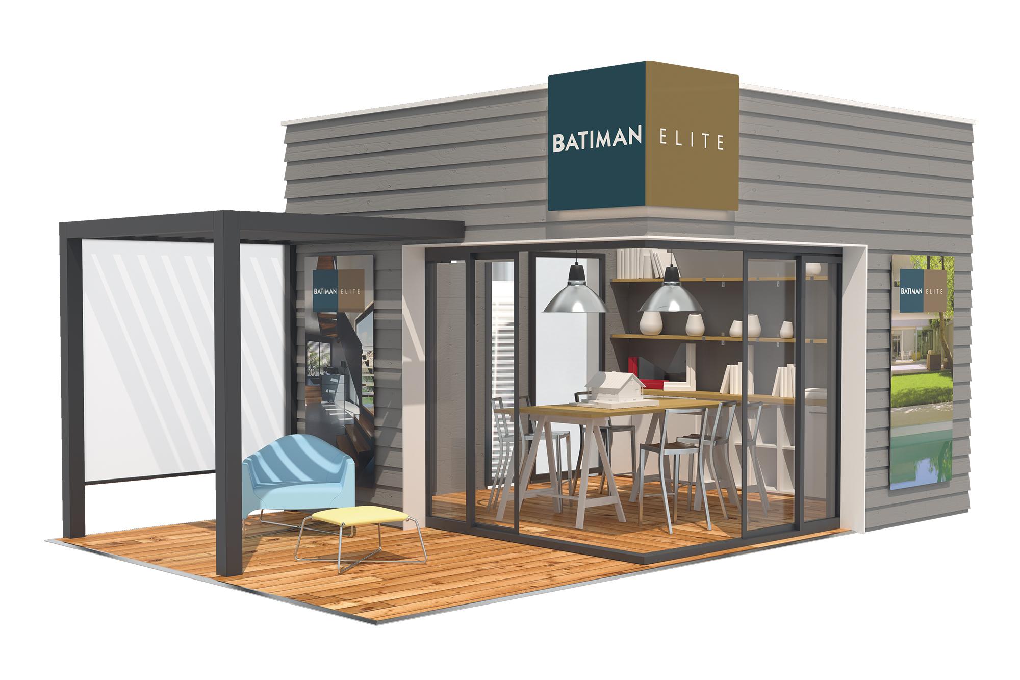 Concept d'agencement gamme Elite Batiman