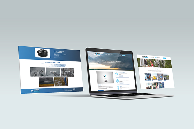 web design site Meteo Omnium