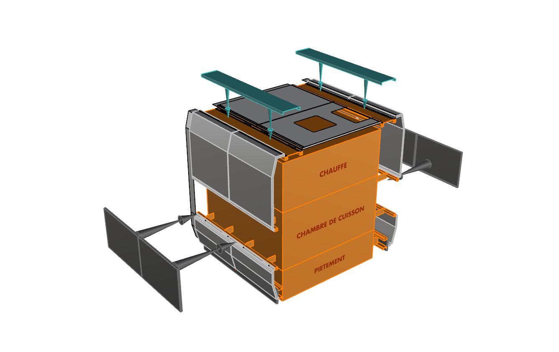 assemblage module Mecatherm