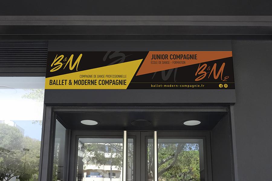 enseigne B&M compagnie