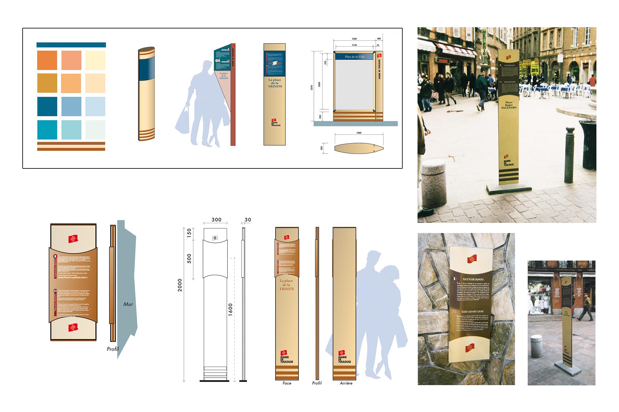 Etude signalétique patrimoniale - Ville de Toulouse 2
