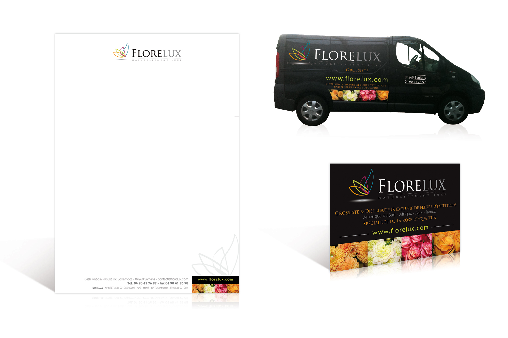 Charte graphique Florelux