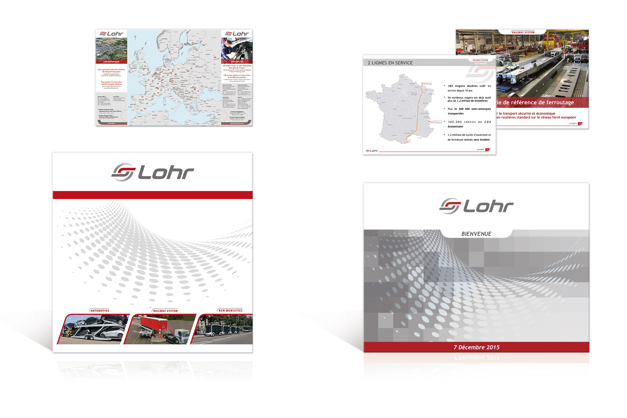 Dépliant de présentation du Groupe Lohr