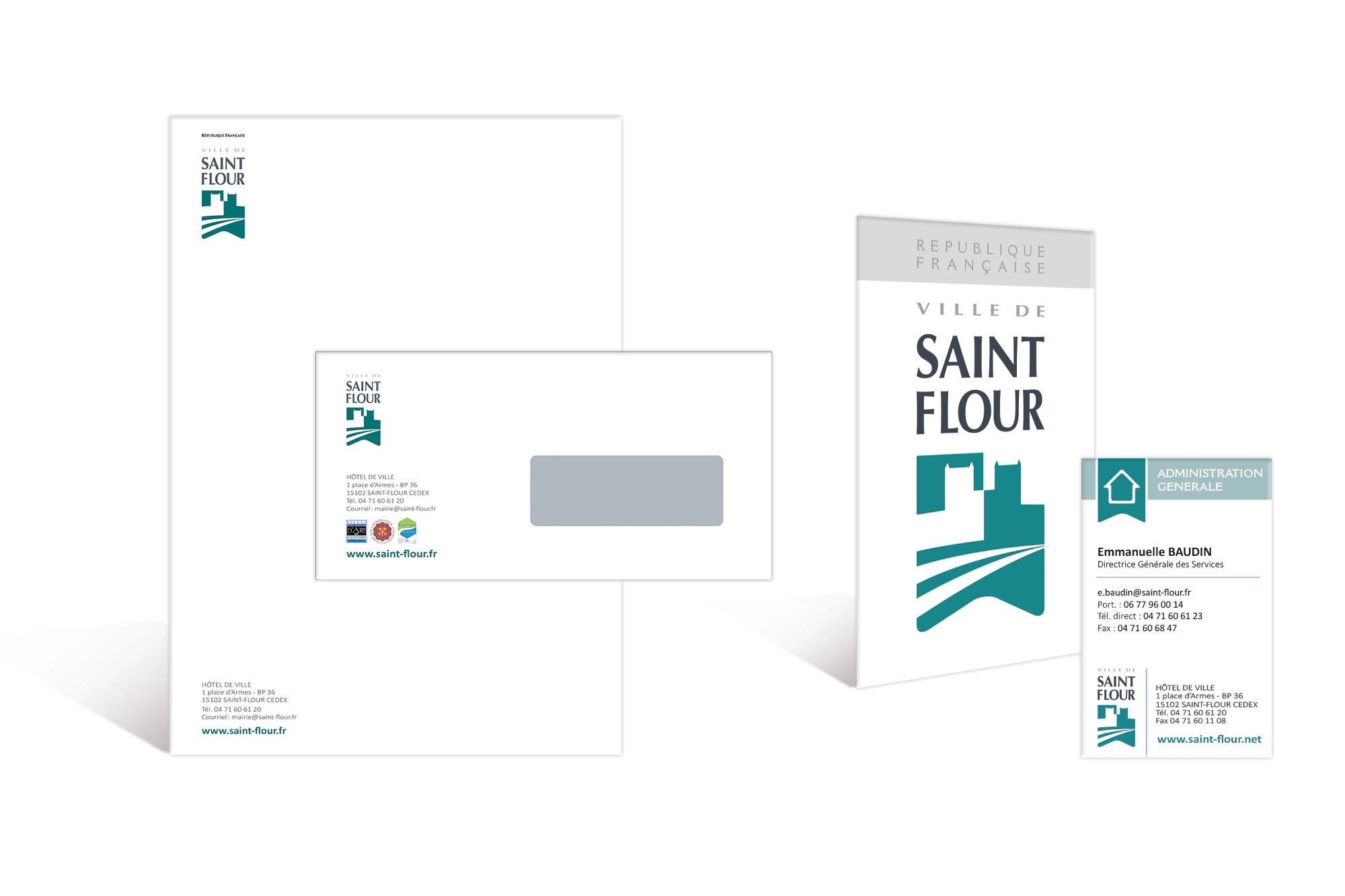 charte graphique ville de Saint-Flour