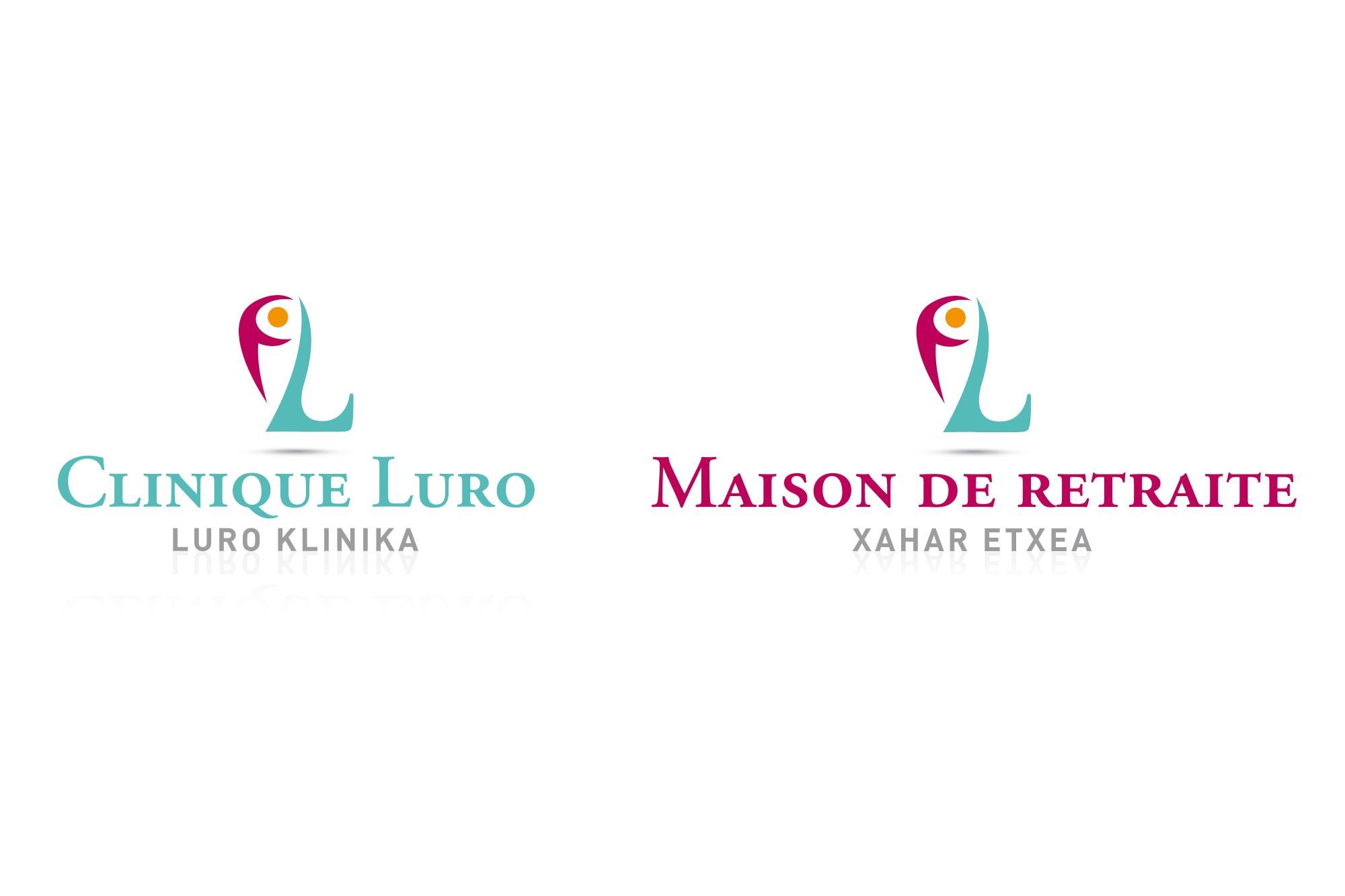 logo clinique et maison de retraite Luro