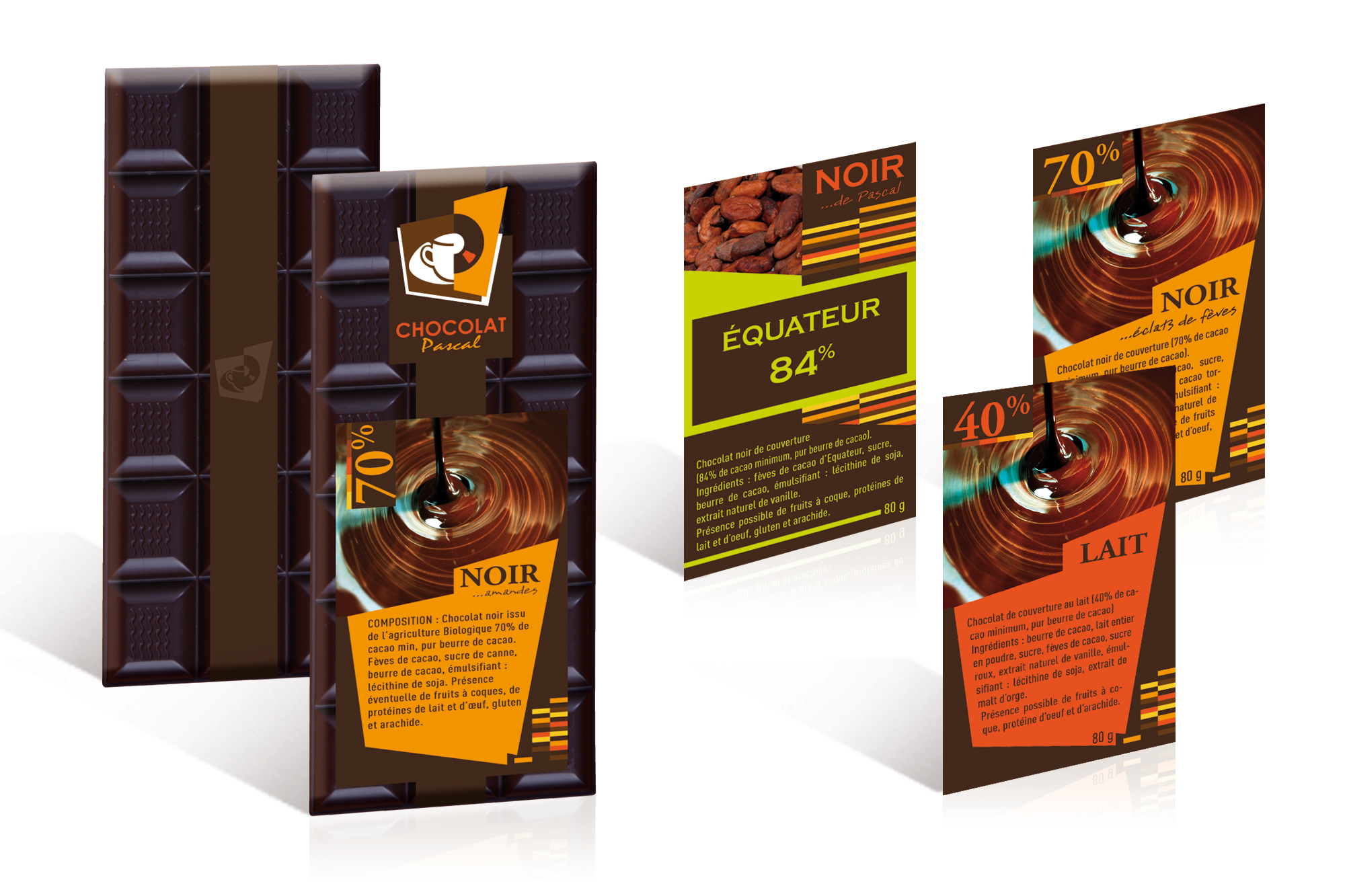 Packaging Chocolat Pascal