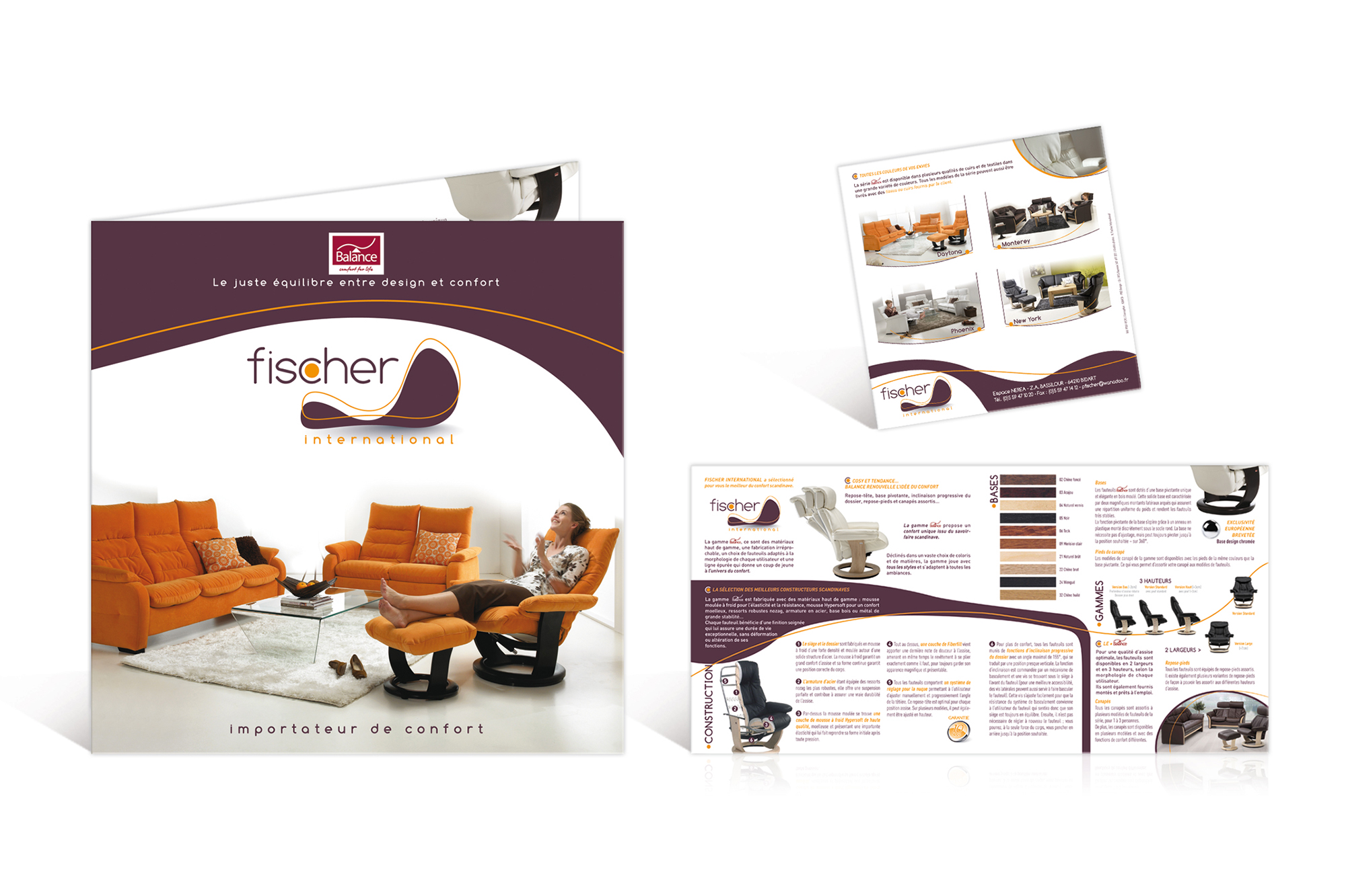 Plaquette produits Fischer International