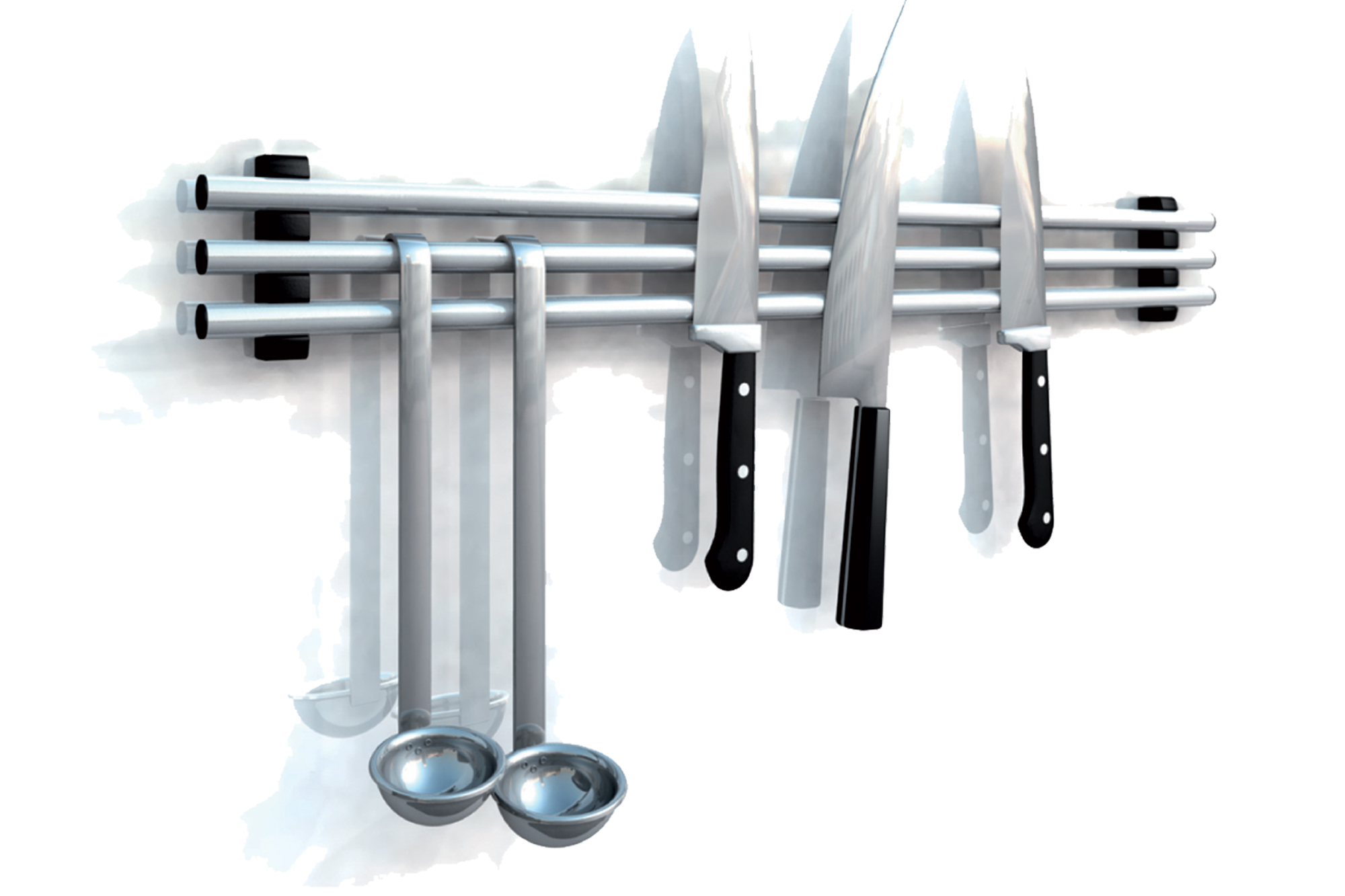Porte couteaux aimanté entrée de gamme