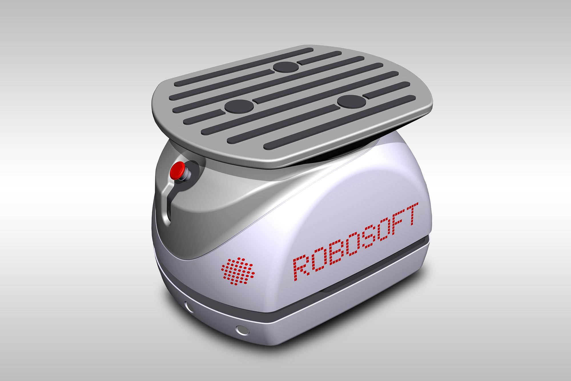 Engy de Robosoft, petit porteur autonome léger et compact