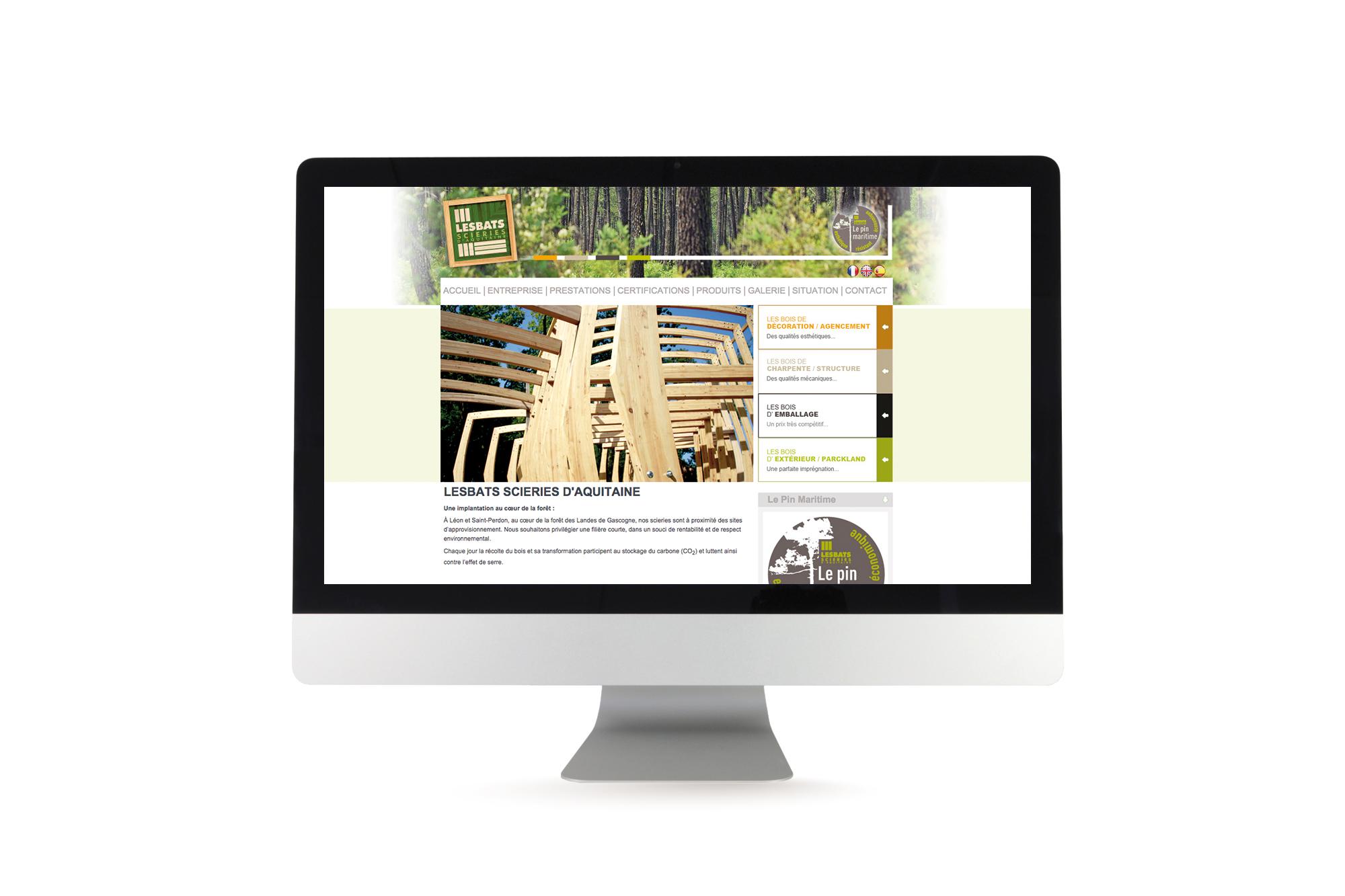 Site internet dynamique Lesbats