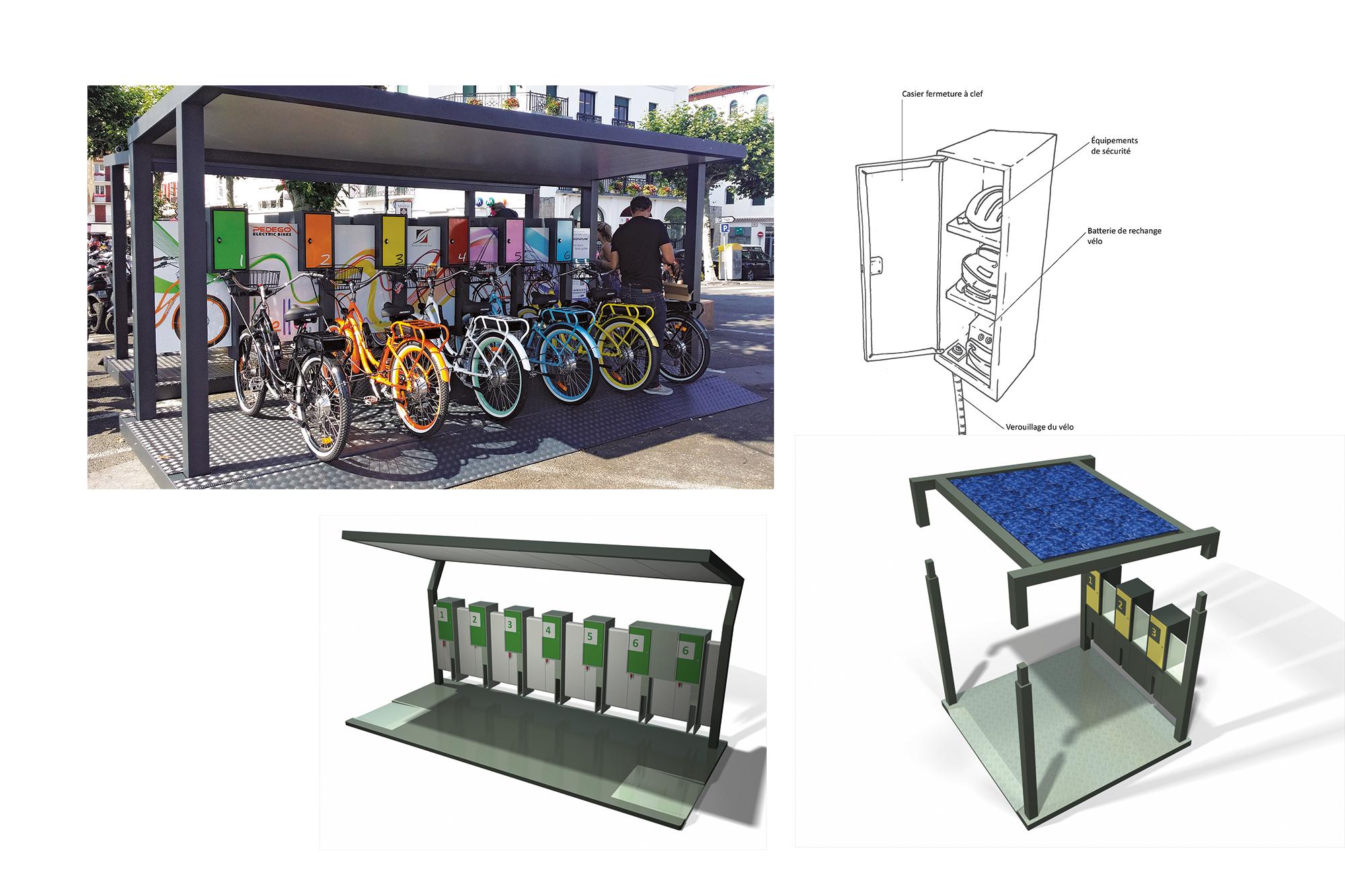Station vélo Vega® - détails - SIGNATURE