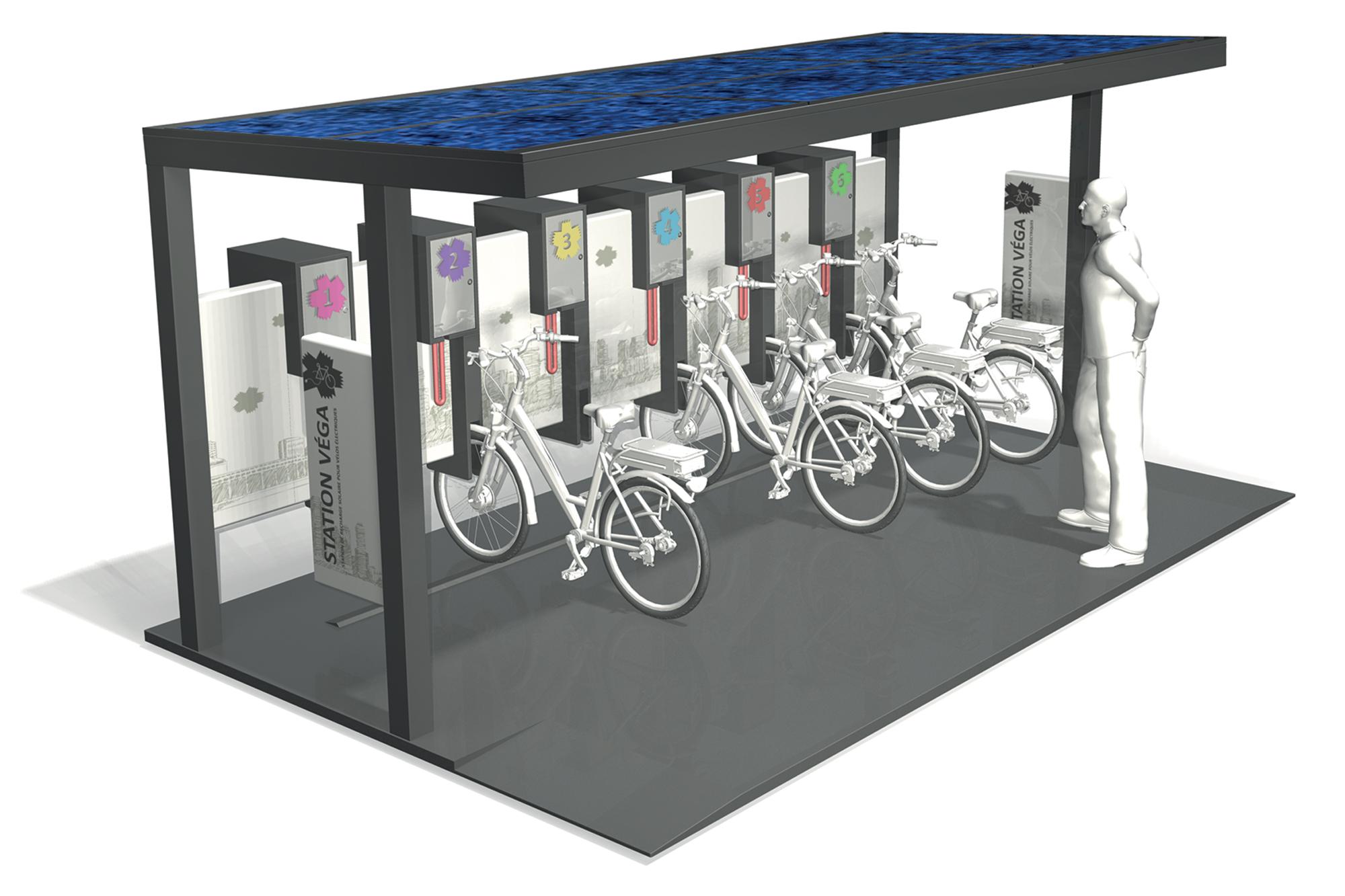 Station vélo Vega® - SIGNATURE