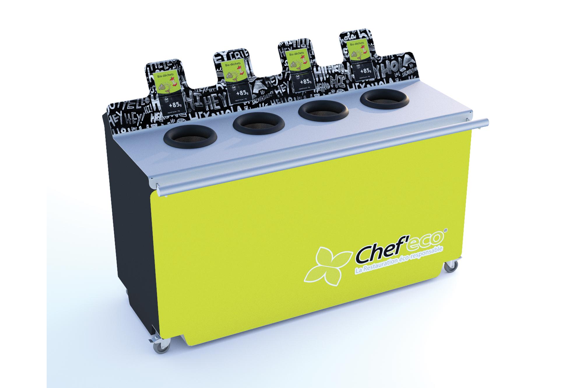 Table de tri avec système de pesée - CHEF ECO