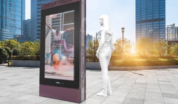 Galvasteel support d'affichage LCD