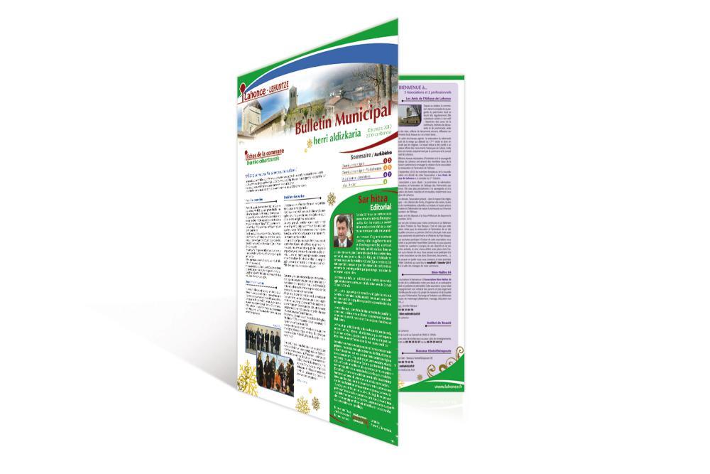 Bulletin Municipal de Lahonce 1