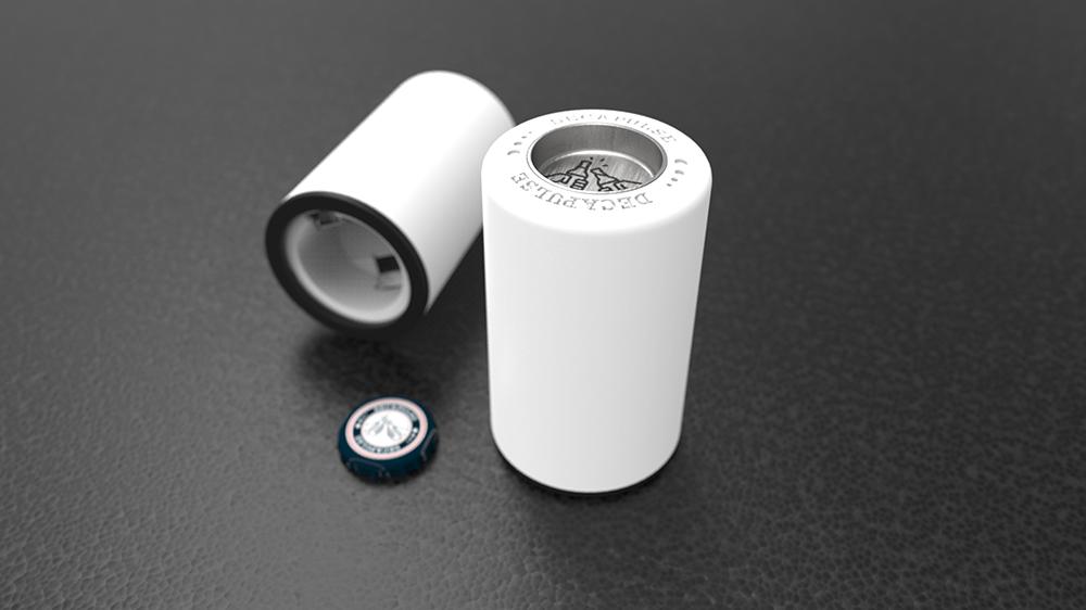 design produit du decapsuleur