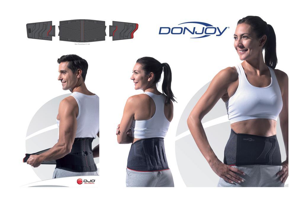 Design d'une gamme de ceinture lombaires pour DJO Global