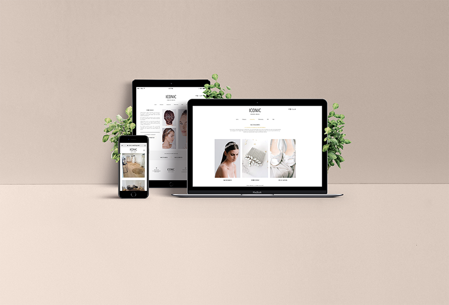 Webdesign ICONIC