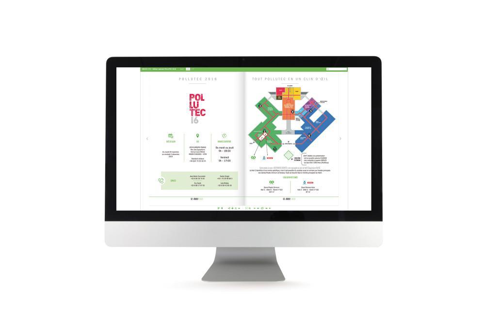 Magazine interactif BRAVO pour Plastic Omnium Environnement