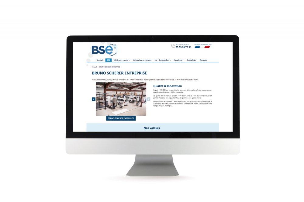 site dynamique BSE