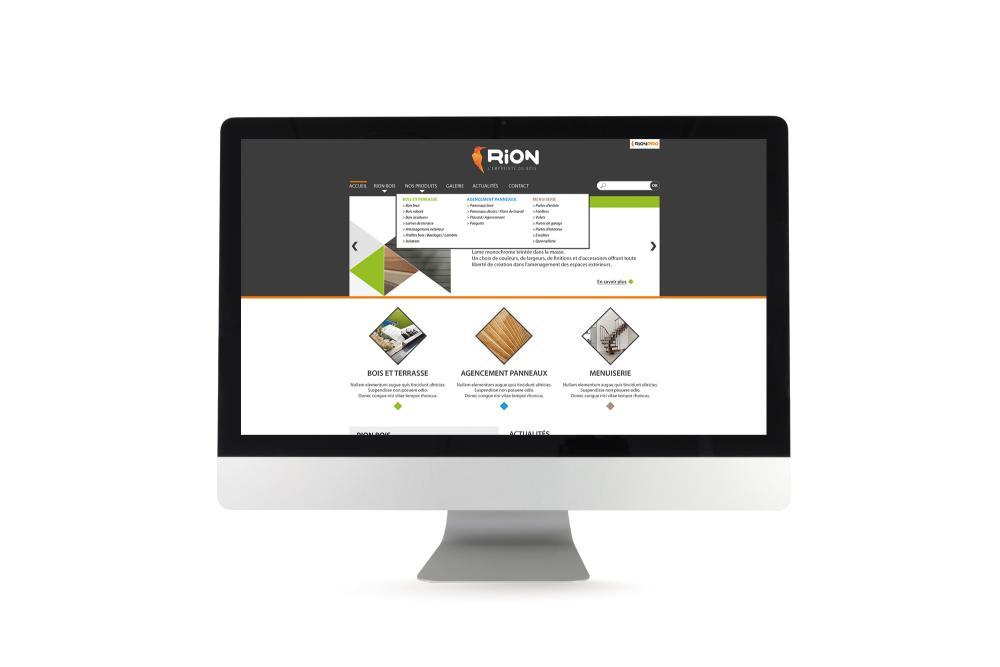 Site internet dynamique Rion