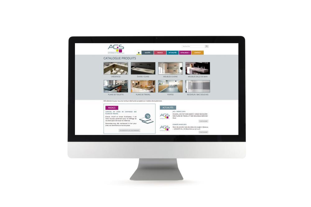 Site Internet pour ACS COMPOSANTS