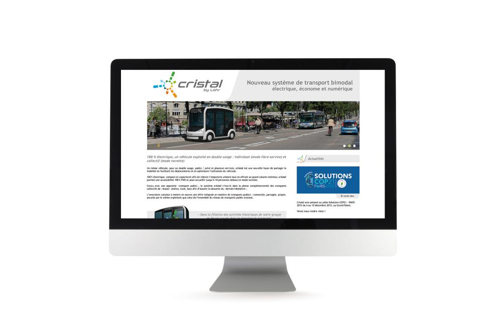Site internet Cristal
