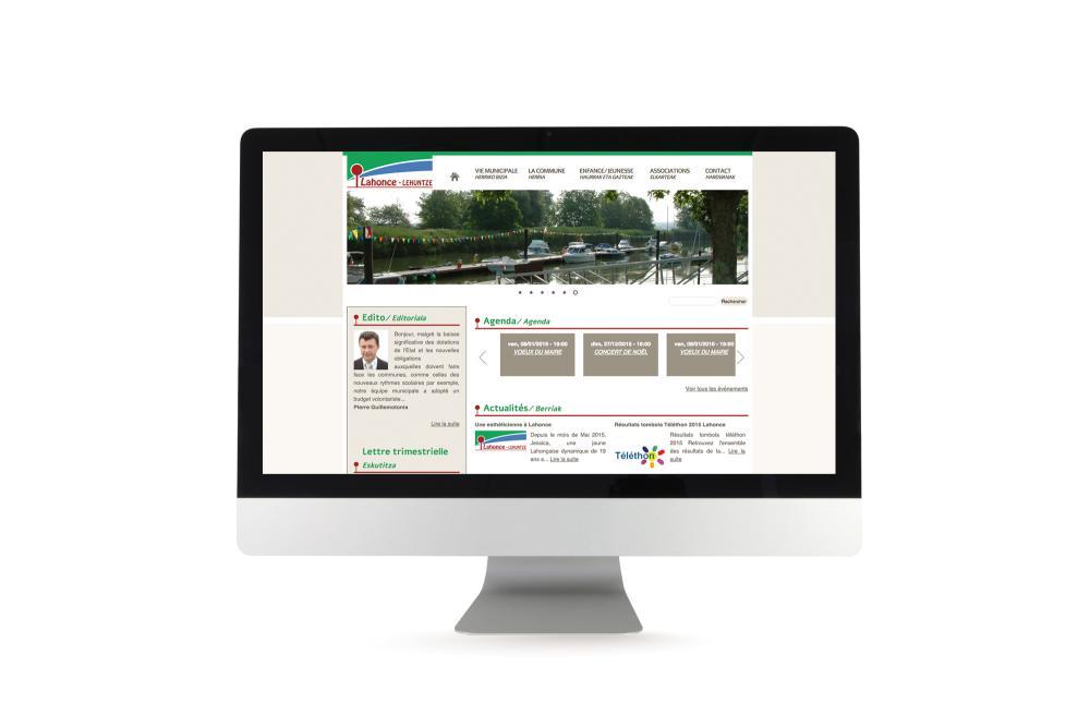 Site Internet de la Mairie de Lahonce