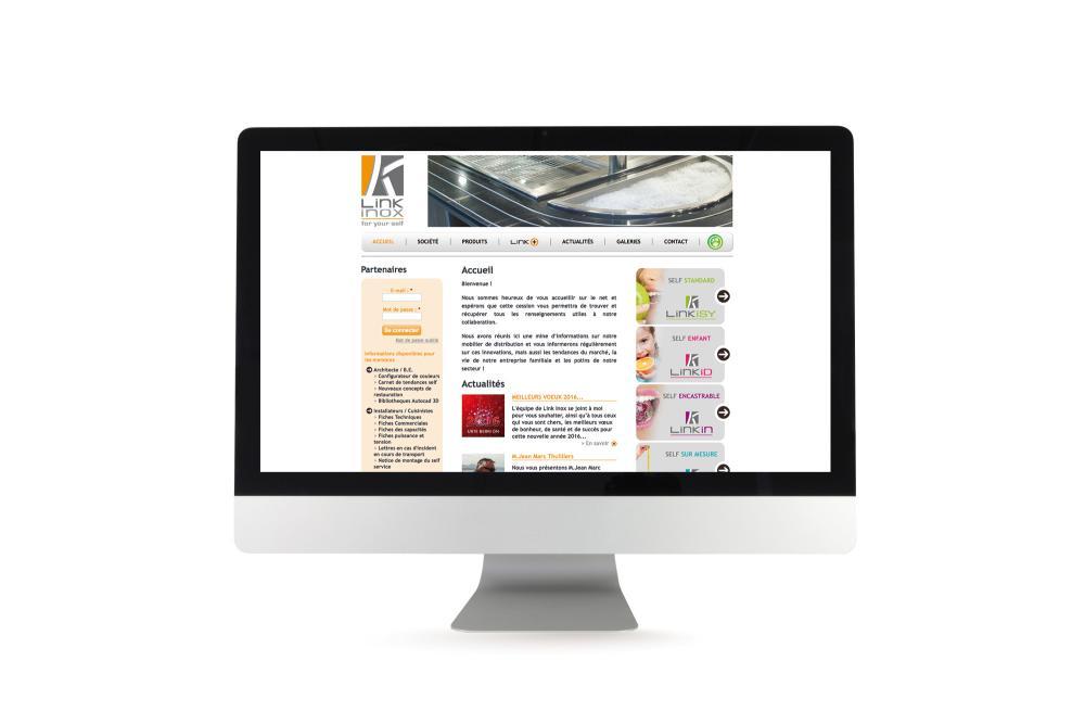 Site internet LinkInox