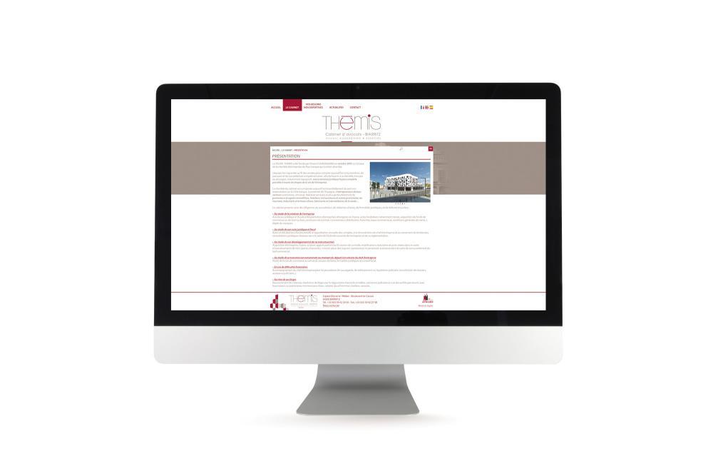 Site internet Themis