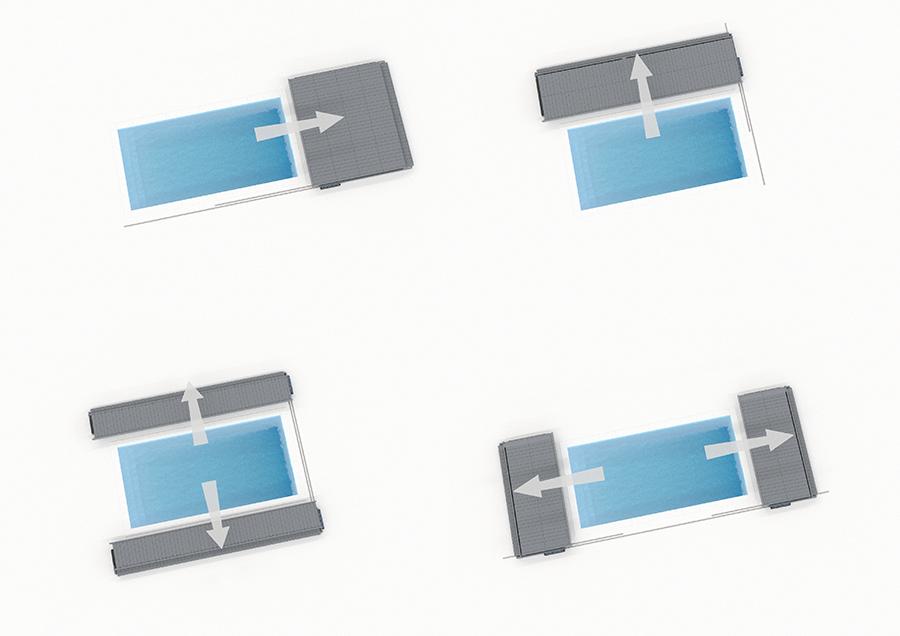 terrasse mobile Diblue