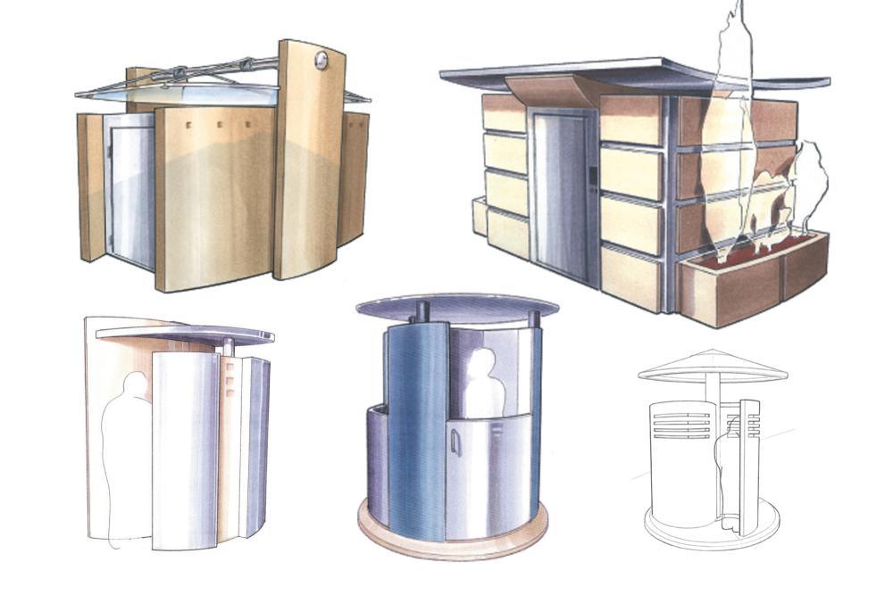 Toilettes urbaines et urinoirs automatiques - MPS