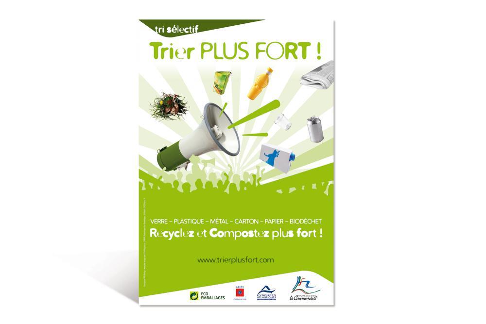 Campagne d'affichage TRIEZ PLUS FORT 1