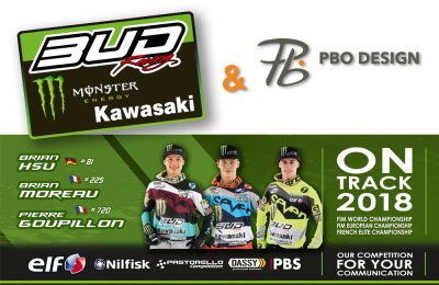 pbo design partenaire team bud racing kawasaki